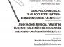 Bandas en el Auditorio - 27 Noviembre 2016