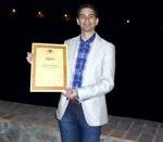 Pérez Garrido con el Primer Premio Nacional en Toledo