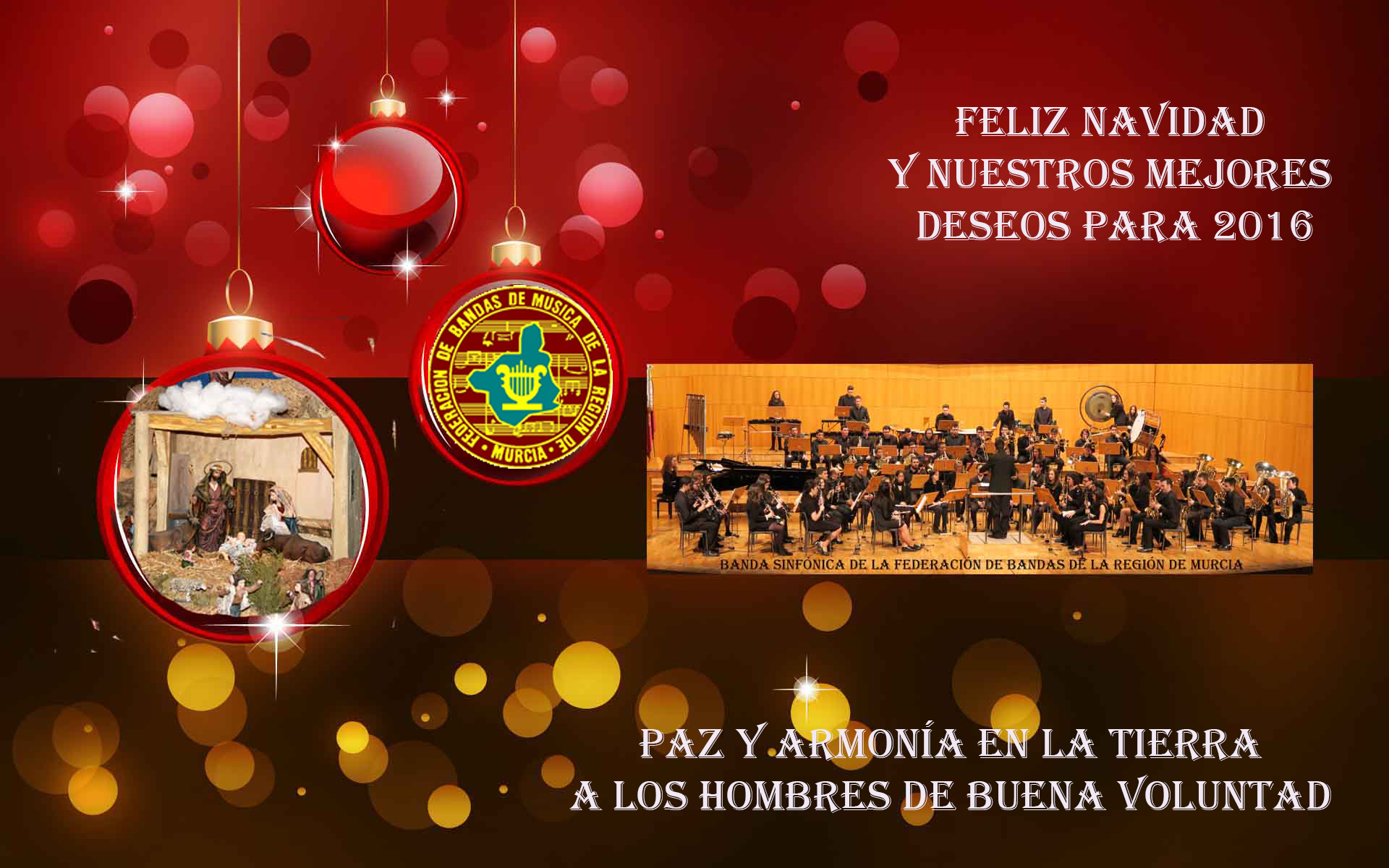 feliz navidad federación bandas