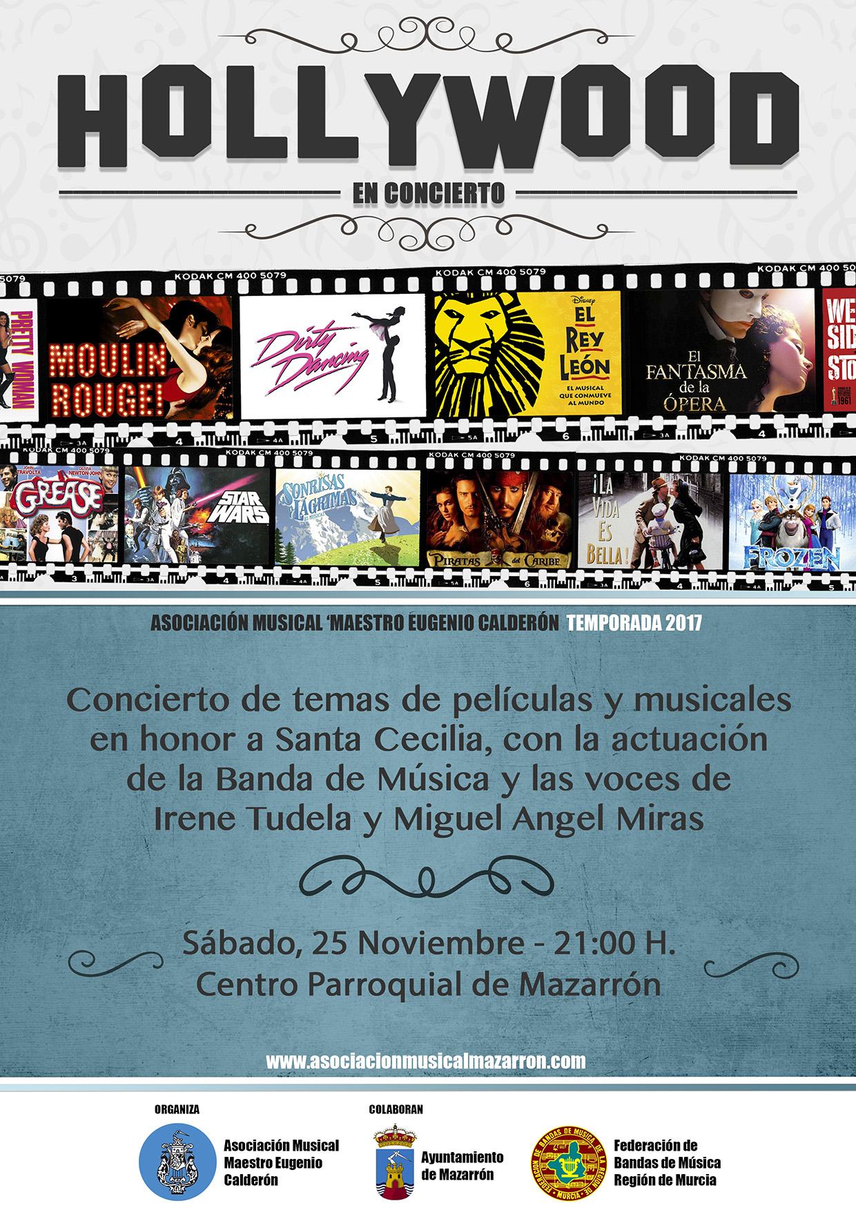 Conciertos de Santa Cecilia – Asociación Musical 'Maestro Eugenio Calderón' de Mazarrón