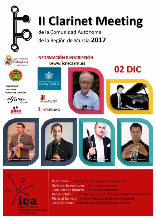II Clarinet Meeting – SAM 'Santa Cecilia' Pozo Estrecho
