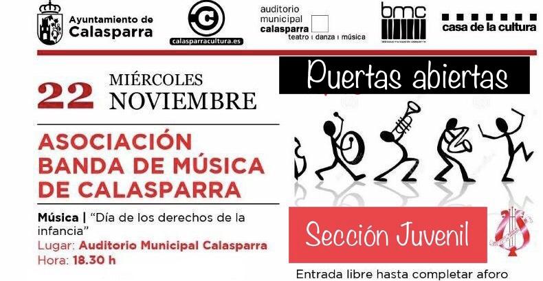 Jornada de Puertas Abiertas – Asociación Banda de Música de Calasparra