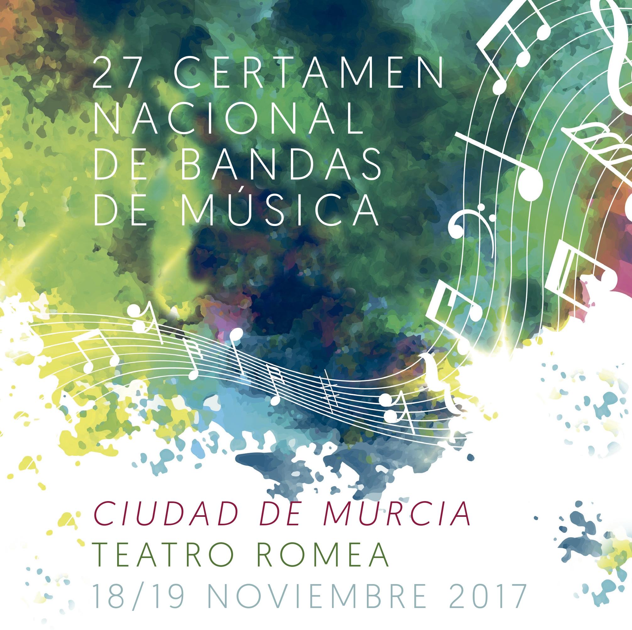 27 Certamen Nacional de Bandas de Música 'Ciudad de Murcia'