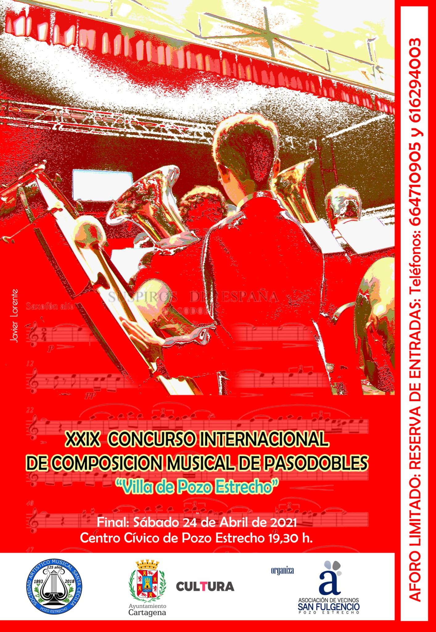 XXIX Concurso Internacional de Composición Musical de Pasodobles